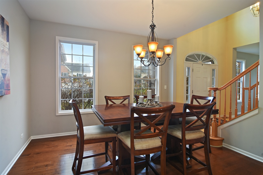 Real Estate Photography - 16 Deerfield, Hawthorn Woods, IL, 60047 - Dining Room