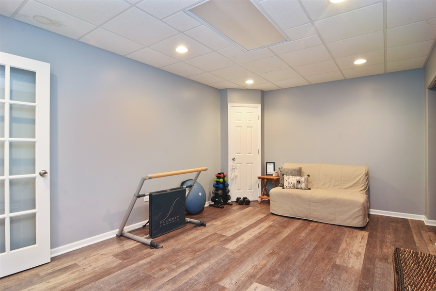 Real Estate Photography - 16 Deerfield, Hawthorn Woods, IL, 60047 - Basement
