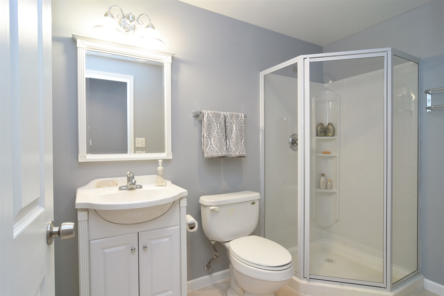 Real Estate Photography - 16 Deerfield, Hawthorn Woods, IL, 60047 - 2nd Bathroom