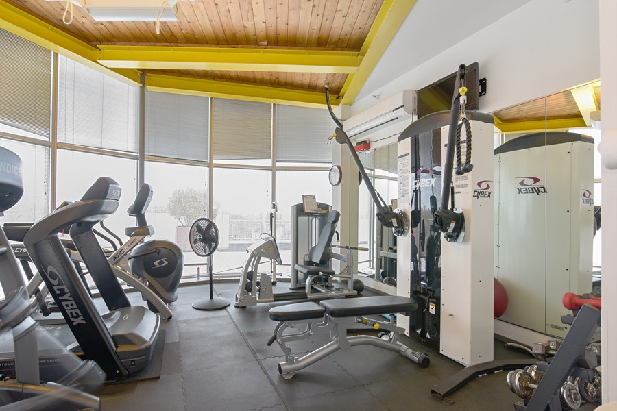 Real Estate Photography - 1210 chicago, 309b, evanston, IL, 60202 - Fitness Center