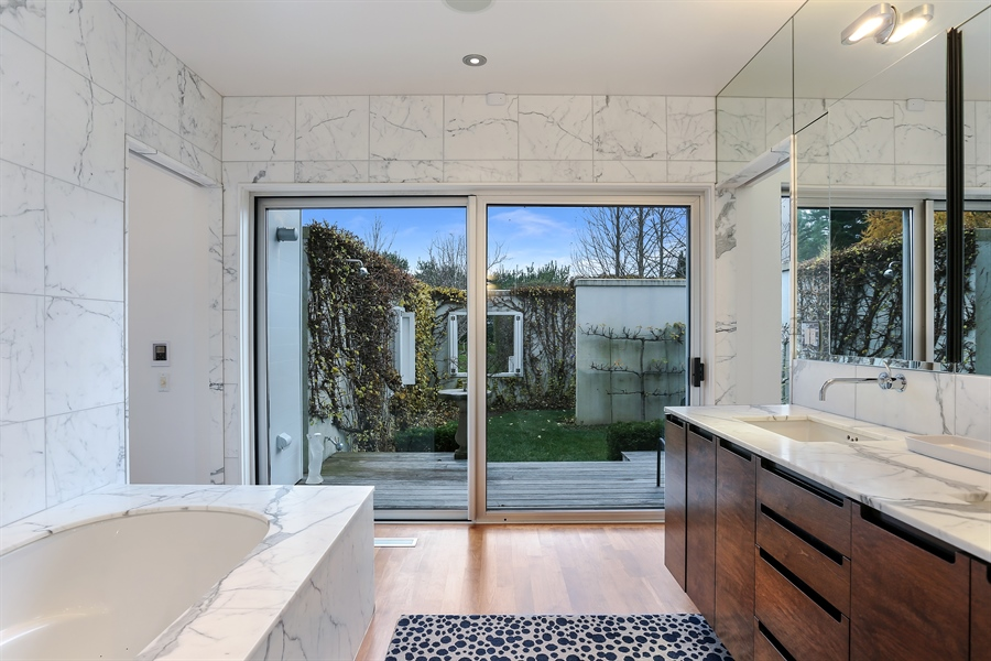 Real Estate Photography - 2217 W Wagner, Buchanan, MI, 49107 - Master Bathroom