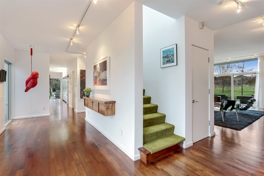 Real Estate Photography - 2217 W Wagner, Buchanan, MI, 49107 - Foyer/Living Room