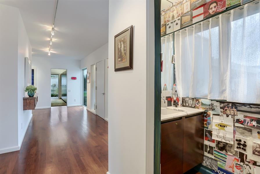 Real Estate Photography - 2217 W Wagner, Buchanan, MI, 49107 - Powder Room
