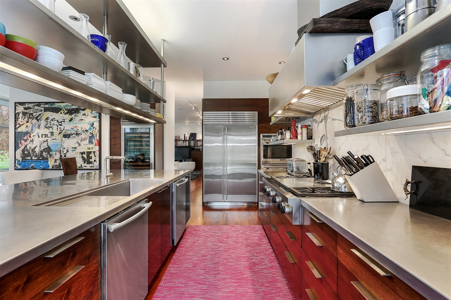 Real Estate Photography - 2217 W Wagner, Buchanan, MI, 49107 - Kitchen