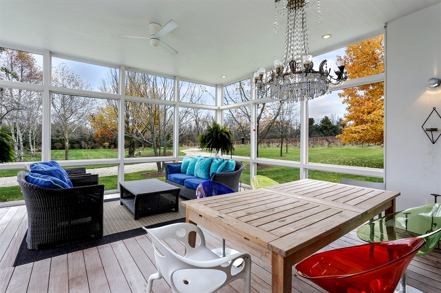 Real Estate Photography - 2217 W Wagner, Buchanan, MI, 49107 - Porch