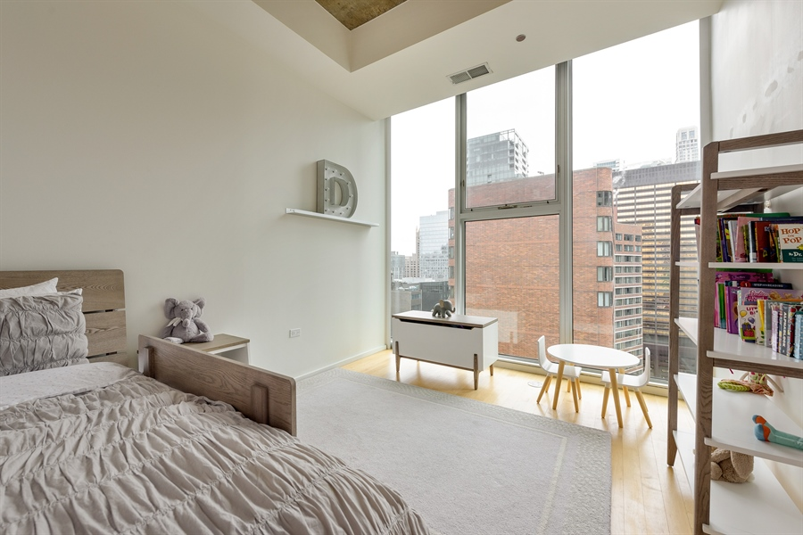 Real Estate Photography - 550 N St. Clair, 2003, Chicago, IL, 60611 - 2nd Bedroom