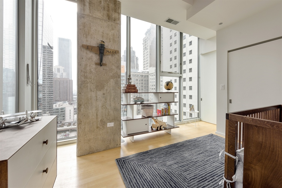Real Estate Photography - 550 N St. Clair, 2003, Chicago, IL, 60611 - 3rd Bedroom