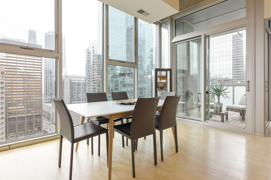 Real Estate Photography - 550 N St. Clair, 2003, Chicago, IL, 60611 - Dining Room