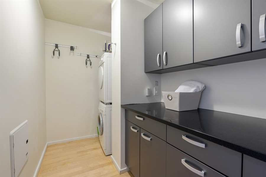 Real Estate Photography - 550 N St. Clair, 2003, Chicago, IL, 60611 - Laundry Room