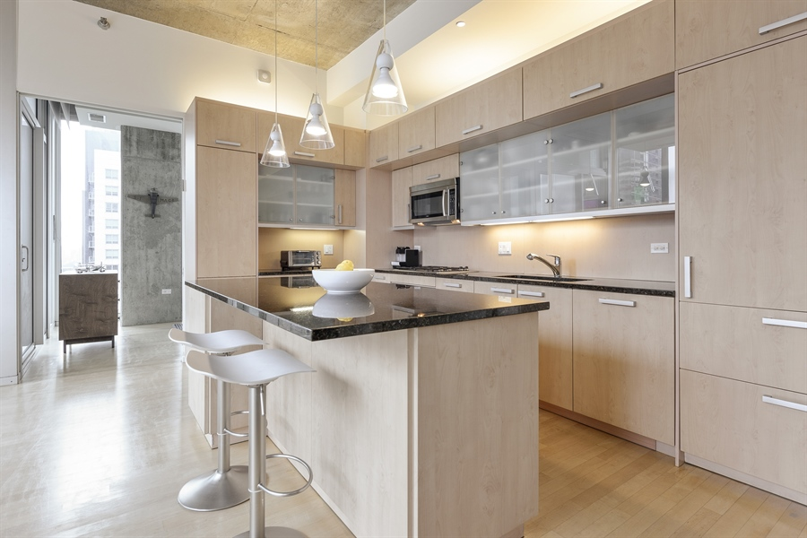 Real Estate Photography - 550 N St. Clair, 2003, Chicago, IL, 60611 - Kitchen
