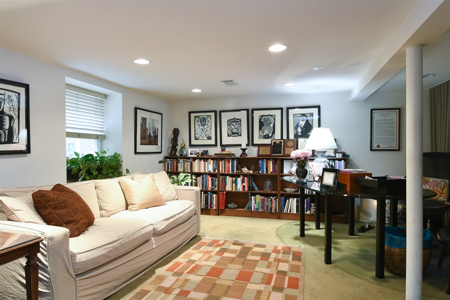 Real Estate Photography - 3625 N. Paulina, Chicago, IL, 60613 - Bedroom or office Lower Level