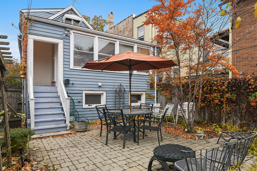 Real Estate Photography - 3625 N. Paulina, Chicago, IL, 60613 - Patio