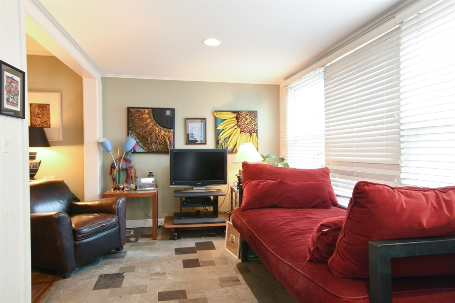 Real Estate Photography - 3625 N. Paulina, Chicago, IL, 60613 - Family Room on main level