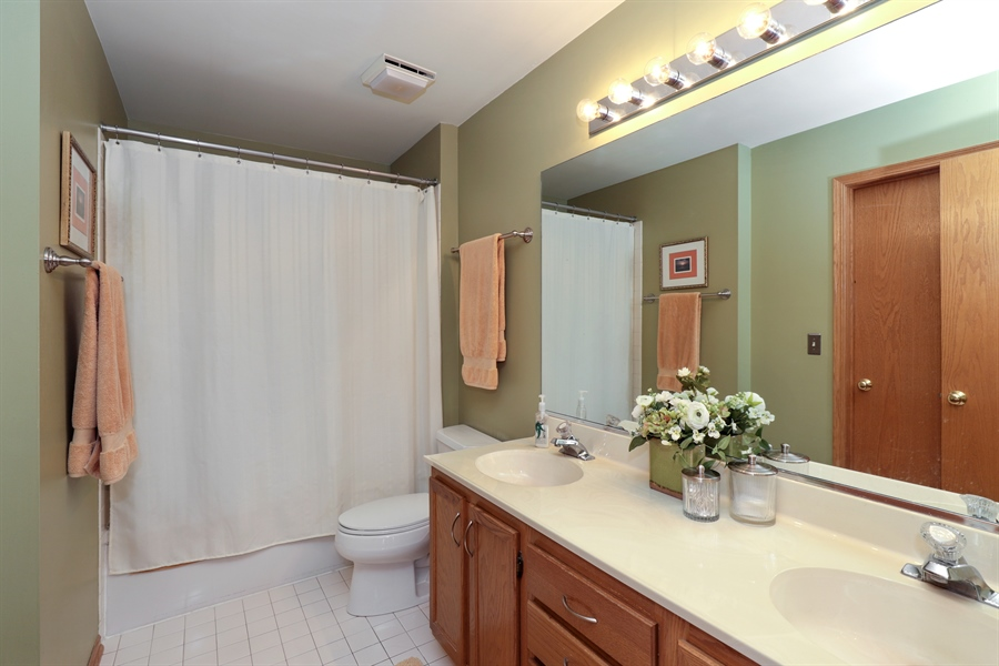 Real Estate Photography - 972 Dunhill, Grayslake, IL, 60030 - Master Bathroom