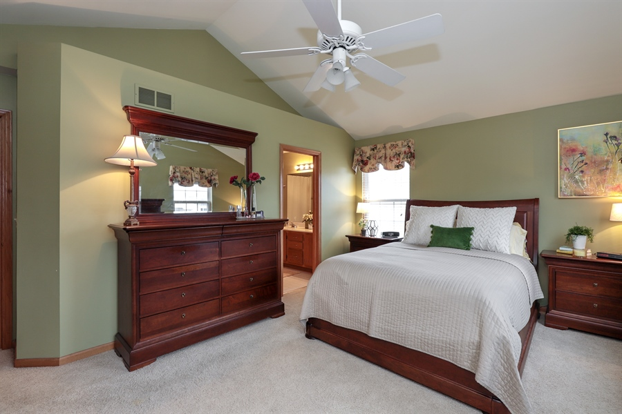 Real Estate Photography - 972 Dunhill, Grayslake, IL, 60030 - Master Bedroom
