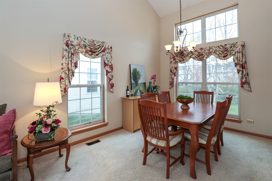 Real Estate Photography - 972 Dunhill, Grayslake, IL, 60030 - Dining Room