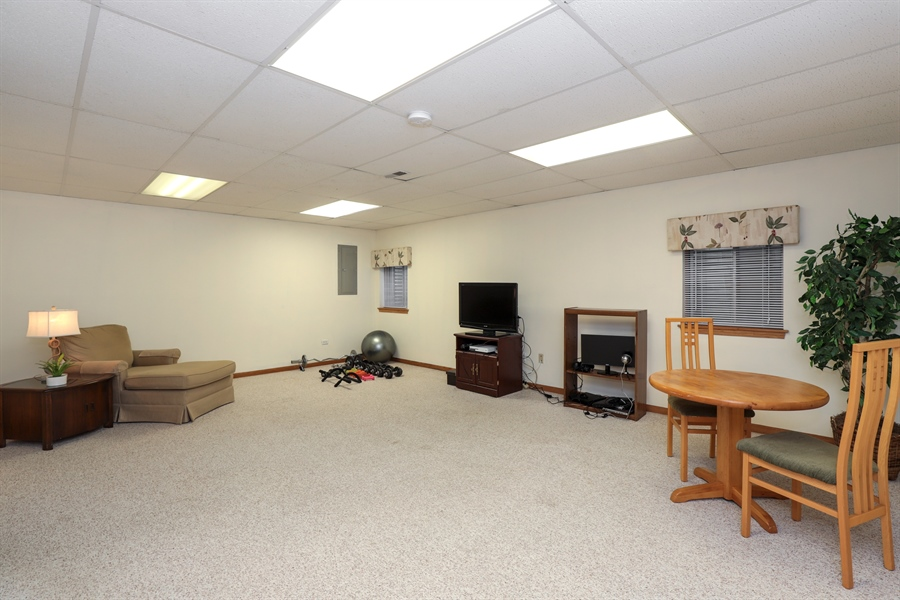 Real Estate Photography - 972 Dunhill, Grayslake, IL, 60030 - Basement