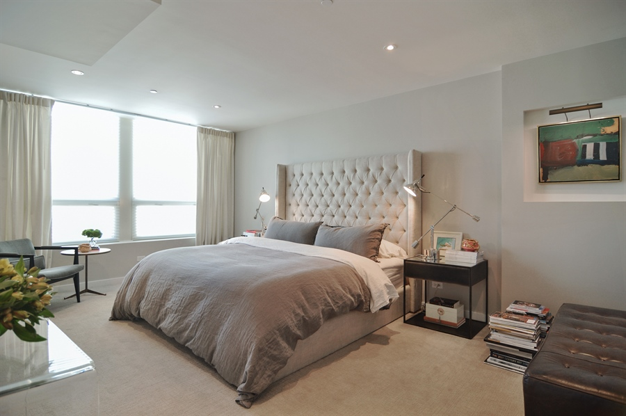 Real Estate Photography - 600 N Kingsbury, 1906, Chicago, IL, 60654 - Master Bedroom