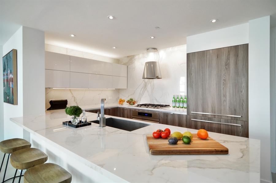 Real Estate Photography - 600 N Kingsbury, 1906, Chicago, IL, 60654 - Kitchen