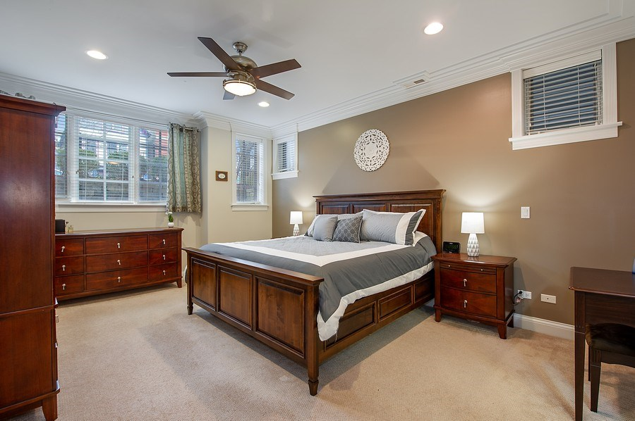 Real Estate Photography - 2836 Racine Ave, Unit 1, Chicago, IL, 60657 - Master Bedroom