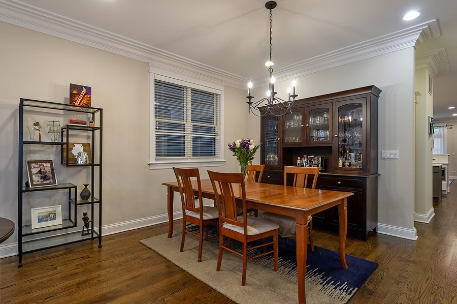 Real Estate Photography - 2836 Racine Ave, Unit 1, Chicago, IL, 60657 - Dining Room