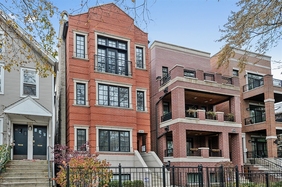 Real Estate Photography - 2836 Racine Ave, Unit 1, Chicago, IL, 60657 - Front View