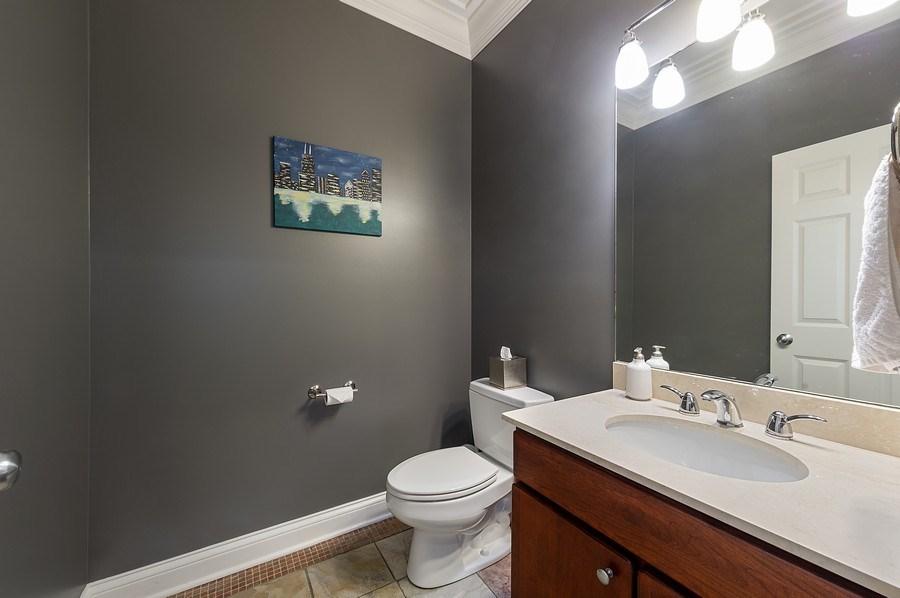 Real Estate Photography - 2836 Racine Ave, Unit 1, Chicago, IL, 60657 - Half Bath