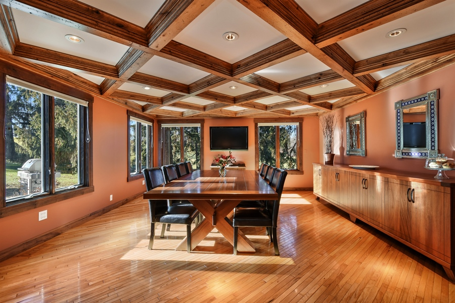 Real Estate Photography - 238 Biltmore Dr, North Barrington, IL, 60010 - Dining Room