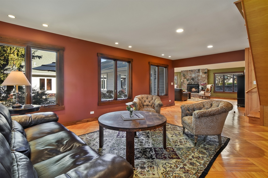 Real Estate Photography - 238 Biltmore Dr, North Barrington, IL, 60010 - Living Room