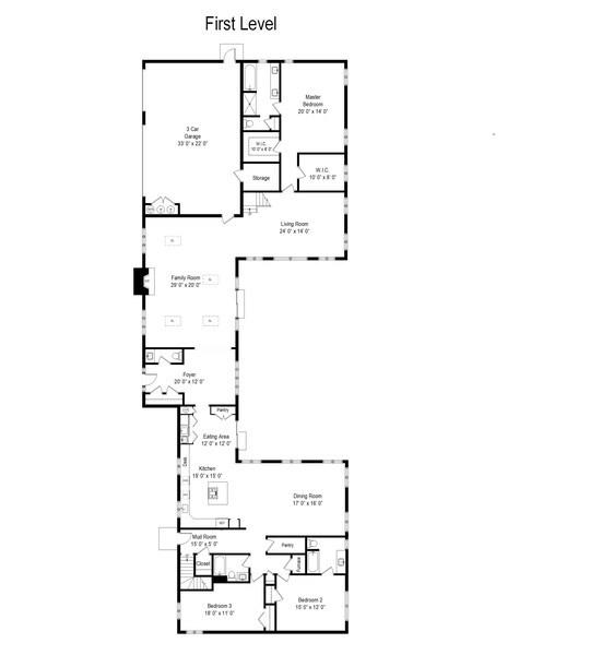 Real Estate Photography - 238 Biltmore Dr, North Barrington, IL, 60010 - Floor Plan