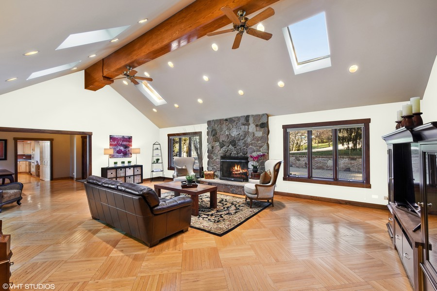 Real Estate Photography - 238 Biltmore Dr, North Barrington, IL, 60010 - Family/Great Room - Virtually Painted