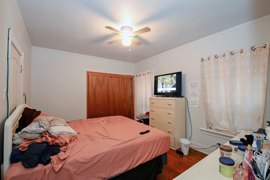 Real Estate Photography - 8159 S Justine, unit 2, Chicago, IL, 60620 - Bedroom