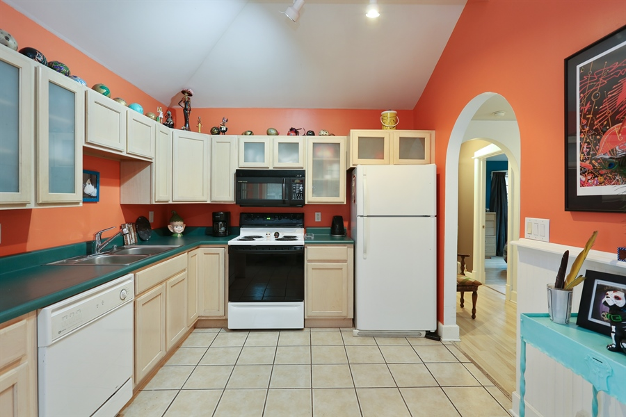 Real Estate Photography - 16153 Krob Rd, Union Pier, MI, 49129 - Updated kitchen