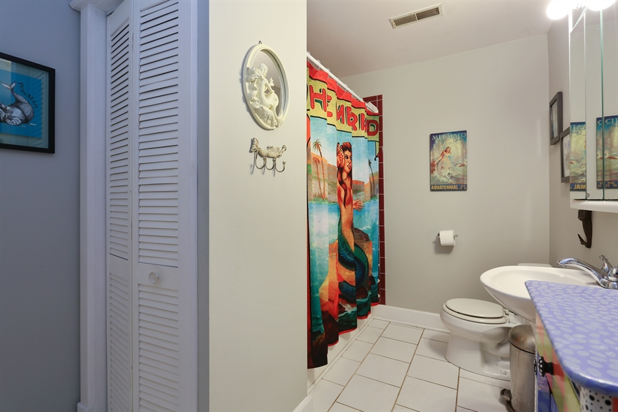 Real Estate Photography - 16153 Krob Rd, Union Pier, MI, 49129 - Bathroom