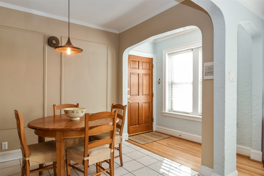Real Estate Photography - 1956 West Melrose, 2W, Chicago, IL, 60657 - Dining Room