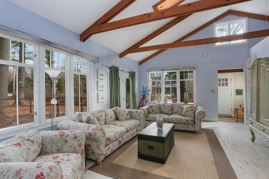 Real Estate Photography - 16310 Fourth Street, Union Pier, MI, 49129 - Living Room