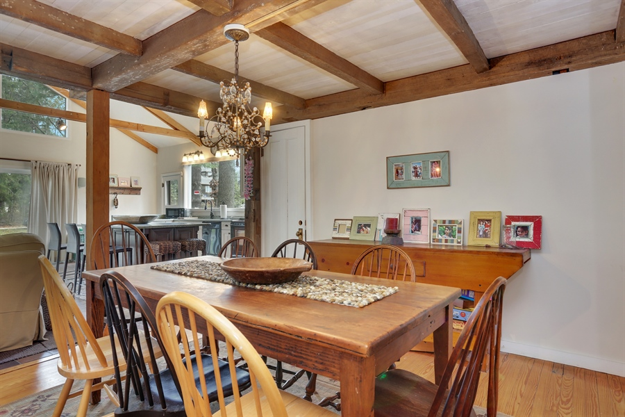 Real Estate Photography - 16310 Fourth Street, Union Pier, MI, 49129 - Dining Room