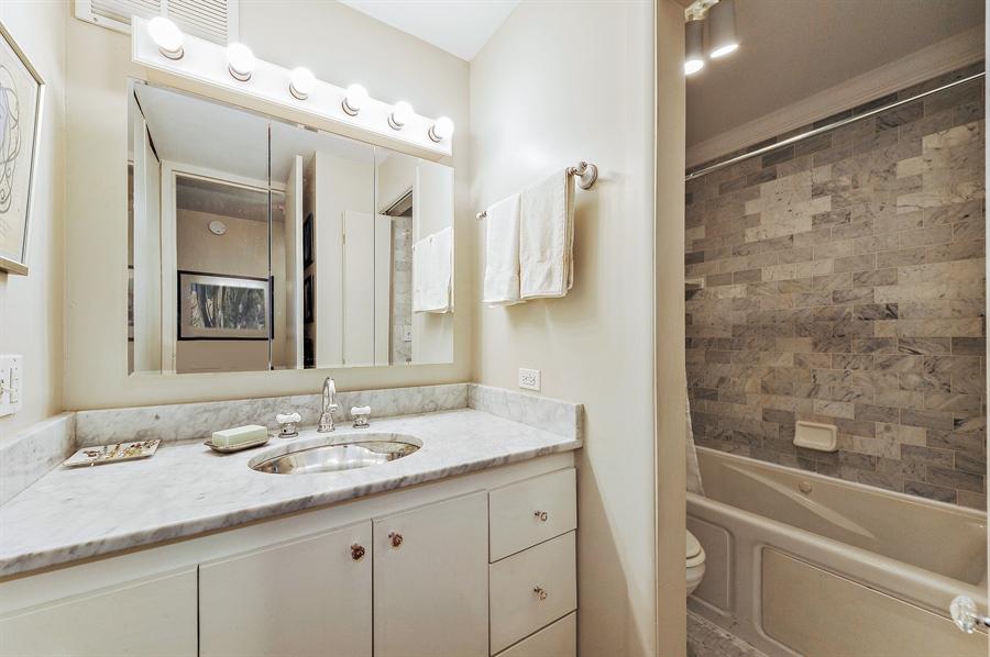 Real Estate Photography - 100 E Walton, #17C, Chicago, IL, 60611 - Master Bathroom