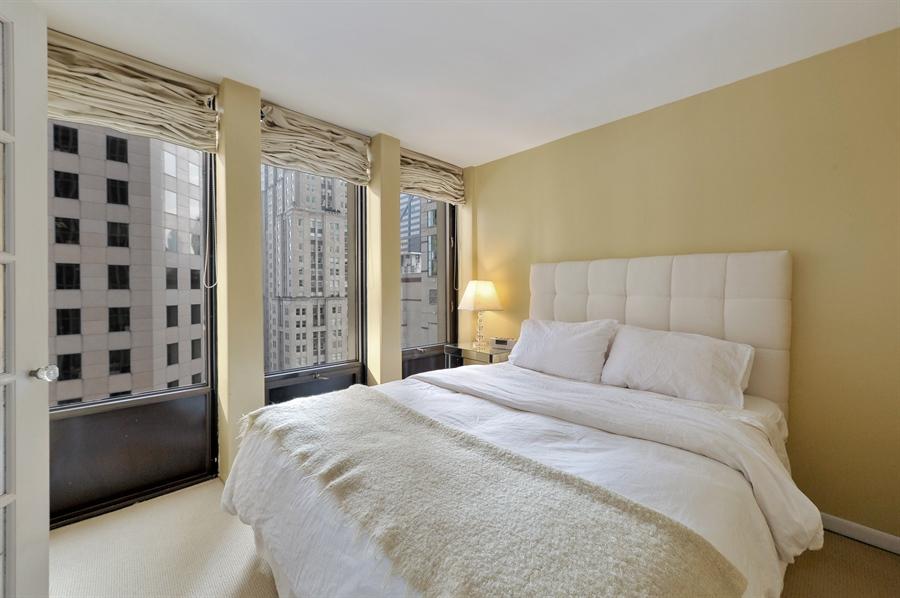 Real Estate Photography - 100 E Walton, #17C, Chicago, IL, 60611 - Master Bedroom