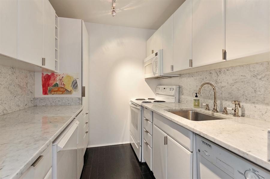 Real Estate Photography - 100 E Walton, #17C, Chicago, IL, 60611 - Kitchen