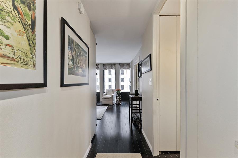 Real Estate Photography - 100 E Walton, #17C, Chicago, IL, 60611 - Hallway