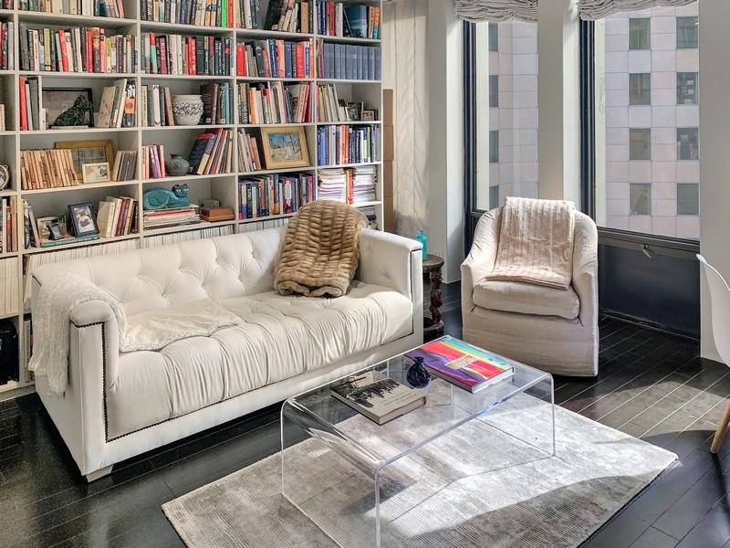 Real Estate Photography - 100 E Walton, #17C, Chicago, IL, 60611 - Living Area