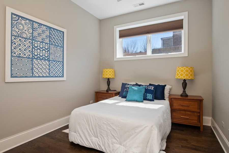 Real Estate Photography - 5061 N. Lincoln Avenue, 1S, Chicago, IL, 60625 - 2nd Bedroom