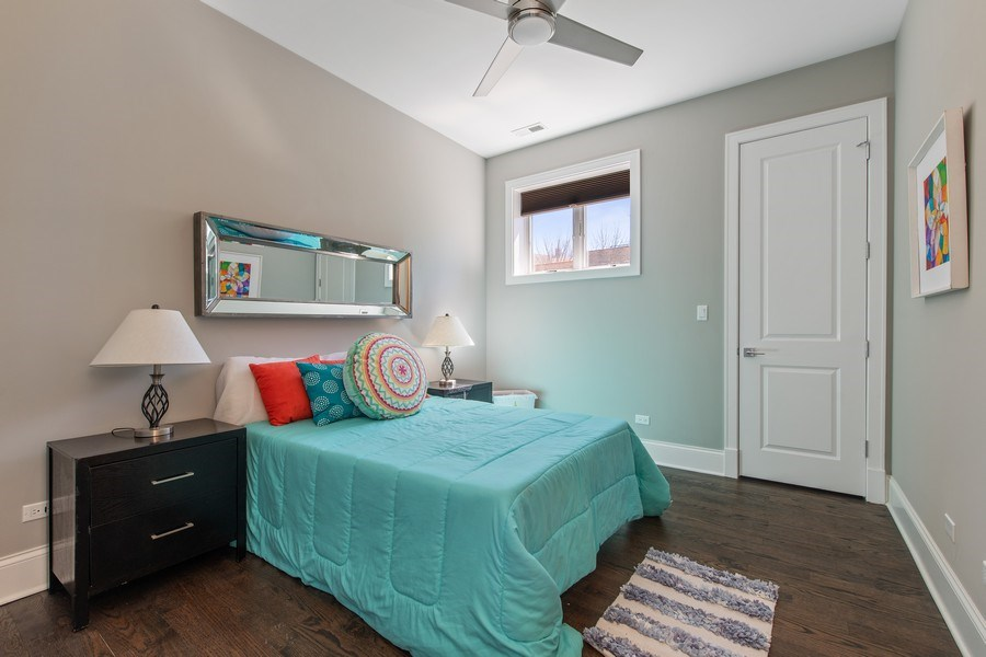 Real Estate Photography - 5061 N. Lincoln Avenue, 1S, Chicago, IL, 60625 - 3rd Bedroom
