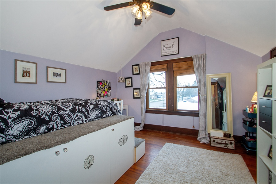 Real Estate Photography - 126 S. CHurch St., Elkhorn, WI, 53121 - 2nd Bedroom