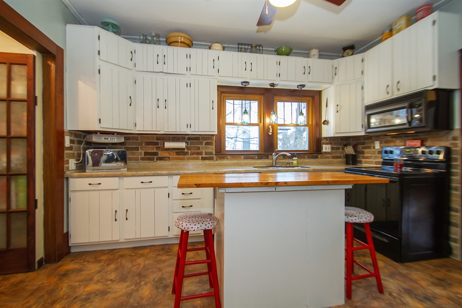 Real Estate Photography - 126 S. CHurch St., Elkhorn, WI, 53121 - Kitchen