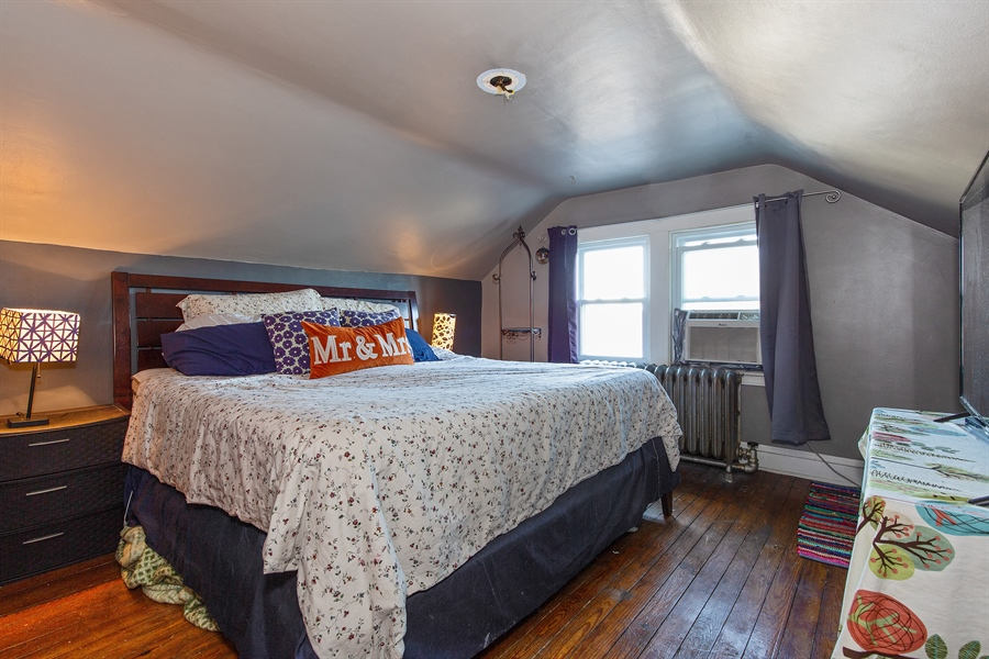Real Estate Photography - 4059 N Mobile Ave, Chicago, IL, 60634 - Master Bedroom