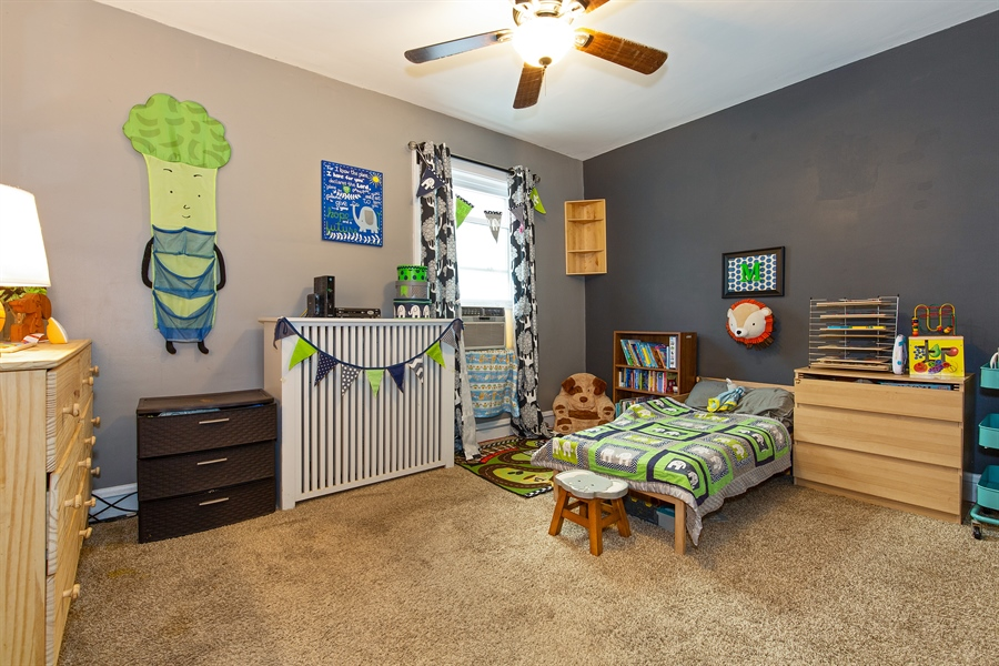 Real Estate Photography - 4059 N Mobile Ave, Chicago, IL, 60634 - 3rd Bedroom