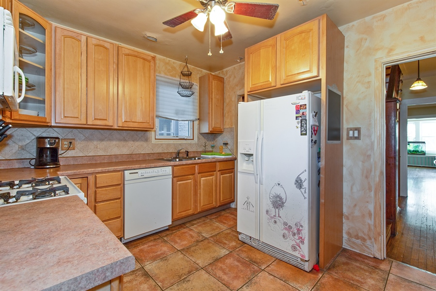 Real Estate Photography - 4059 N Mobile Ave, Chicago, IL, 60634 - Kitchen