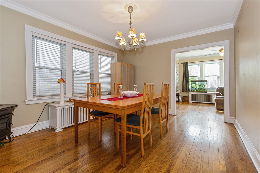 Real Estate Photography - 4059 N Mobile Ave, Chicago, IL, 60634 - Dining Room